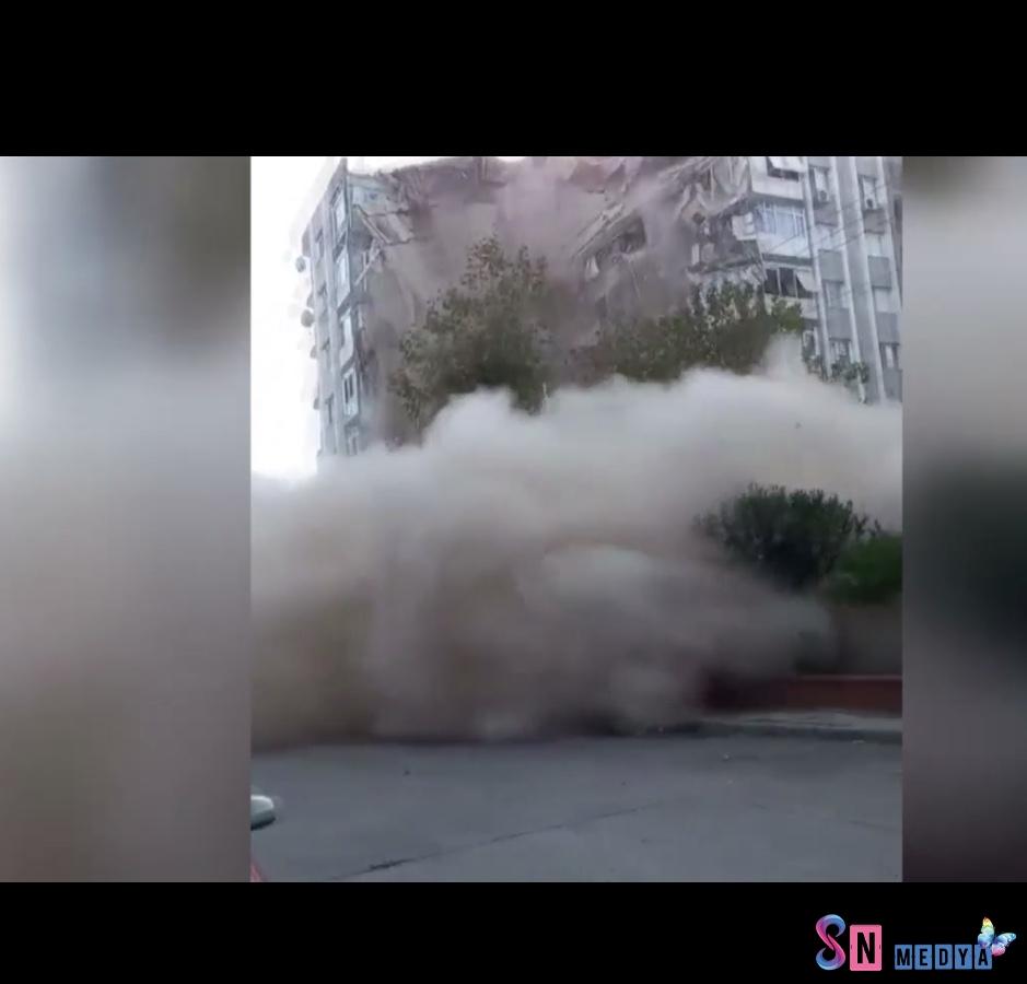 Yıkılan binalar var! İzmir depremi İstanbul, Bursa ve Çanakkale'de de hissedildi!