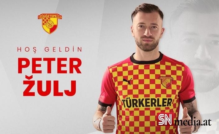 Peter Zulj Göztepe'nin ilk Avusturyalı futbolcusu oldu