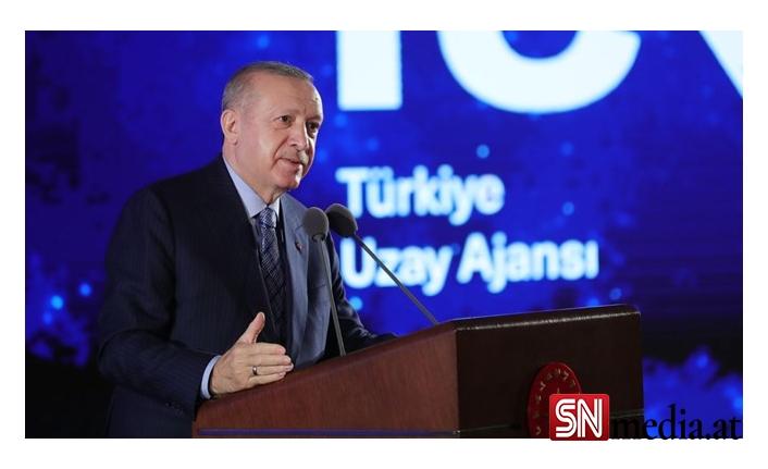 Cumhurbaşkanı Erdoğan:2023 yılında Ay'a gideceğiz