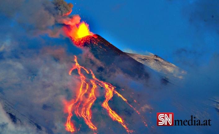 Etna'nın öfkesi dinmiyor!