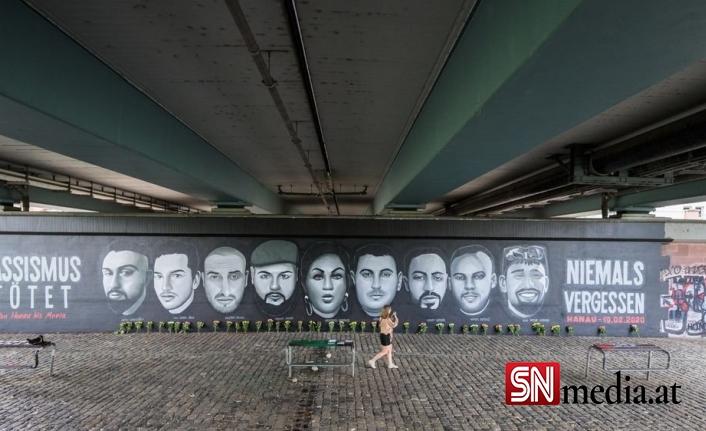Hanau saldırının kurbanları anıldı