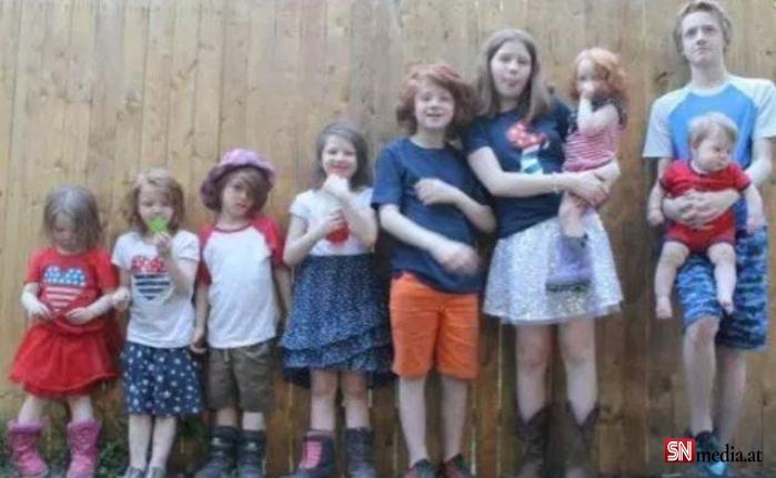11 çocuk doğuran kadın, çocuklarını ayırt etmek için renk yöntemini kullanıyor
