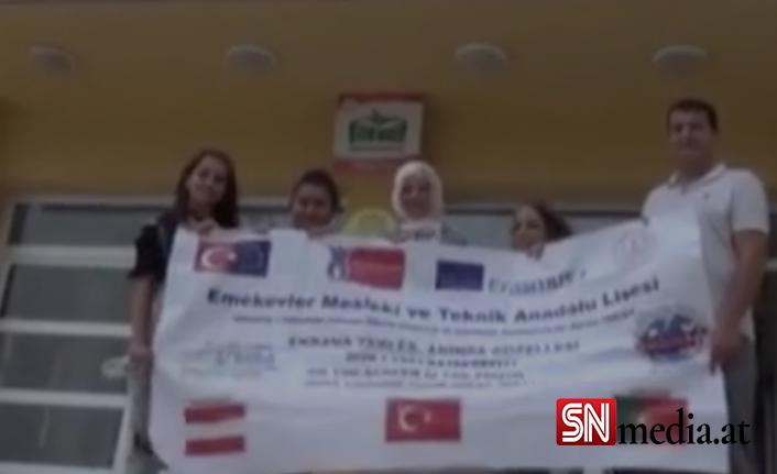 Burdurlu öğrenciler Viyana'da staj yaptı