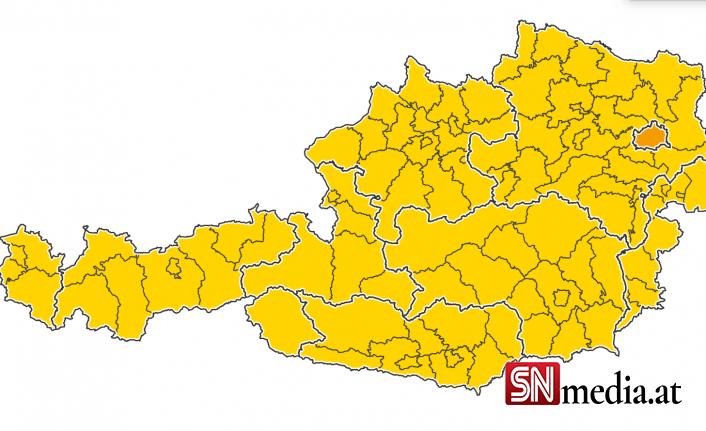 Korona trafik ışığı: Viyana turuncuya döndü, diğer eyaletler sarı yanıyor