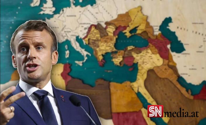 Macron'a göre Yunanistan Osmanlı'ya karşı mücadele ederek Avrupa'nın kalbinde yer aldı