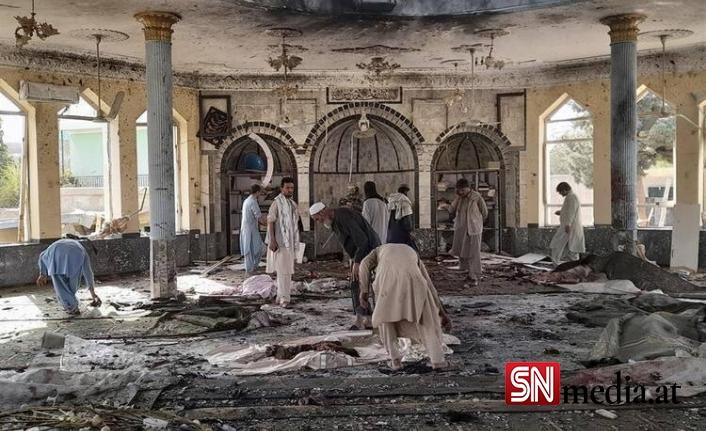 Afganistan'da camide patlama: Çok sayıda ölü var