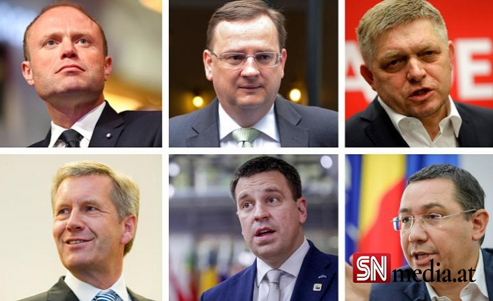 Avrupa'da hangi liderler yolsuzluk nedeniyle istifa etti?
