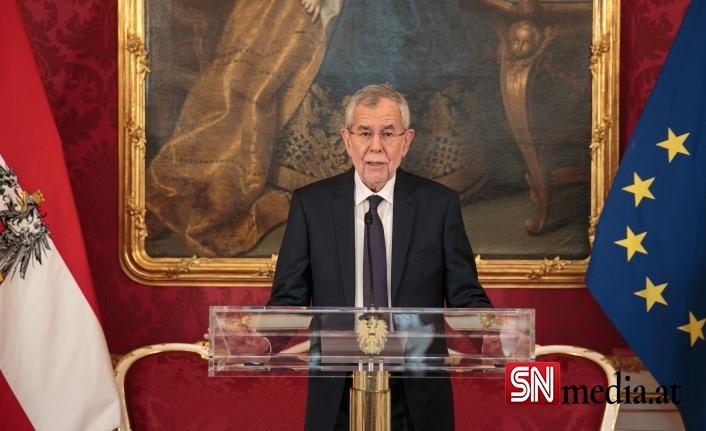 Avusturya Cumhurbaşkanı Van der Bellen, Başbakan Yardımıcısı Kogler ile görüştü..