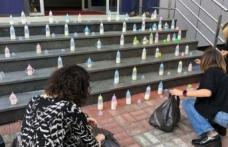 Muhalefetten biberonlu Covid-19 protestosu