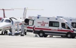 İsveç'teki Türk Hasta Türkiye'ye Getirildi