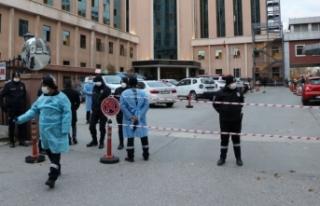 Gaziantep'te hastanede oksijen tüpü patladı!...