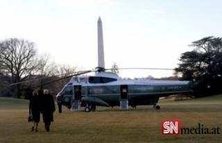 ABD tarihinde bir ilk; Beyaz Saray'a sessiz veda