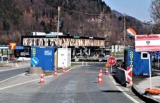 Avusturya sınırlarında 19 Aralık'tan bu yana...