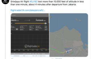 Endonezya'da bir yolcu uçağı denize düştü