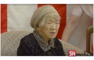 Guinness'e göre dünyanın en yaşlı insanı...
