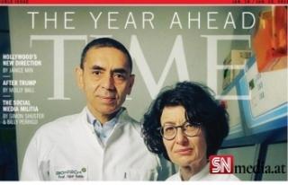Rüya ikili TIME'ın kapağında...