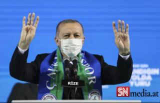 Erdoğan'dan ABD'ye: Bal gibi de PKK'nın...