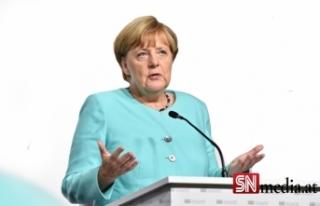Merkel: Türkiye gündeminde bir parça ilerleme sağlamak...
