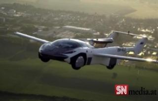 'Uçan araba' AirCar 35 dakikalık test...