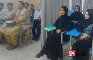 Afganistan'da eğitim başladı: Kız ve erkek öğrenciler...