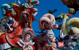 Avrupa'nın en ateşli festivali 'Las Fallas'