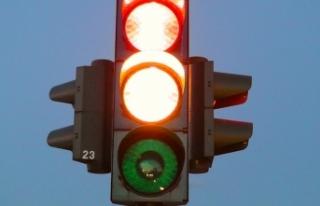 Korona trafik ışığına göre, Yukarı Avusturya...