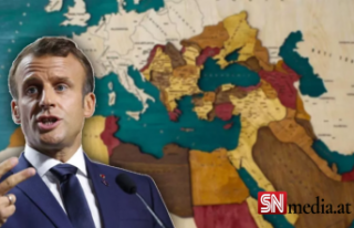 Macron'a göre Yunanistan Osmanlı'ya karşı...