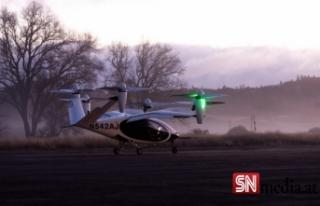 NASA uçan taksi denemelerine başladı