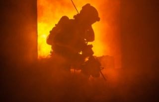 Viyana'da bir huzur evinde çıkan yangında...
