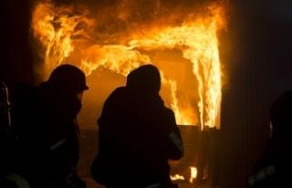 Viyana'da çıkan yangınında bir kişi hayatını...