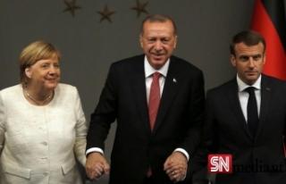 Almanya Başbakanı Merkel, 16 Ekim'de Türkiye'ye...