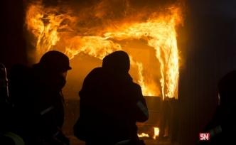 Viyana'da çıkan yangınında bir kişi hayatını kaybetti