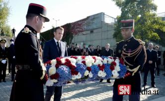 Macron, 60 yıl önce Paris'te Cezayirli göstericilere yapılan 'affedilemez' müdahaleyi kınadı