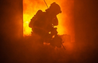 Viyana'da bir huzur evinde çıkan yangında bir kişi hayatını kaybetti