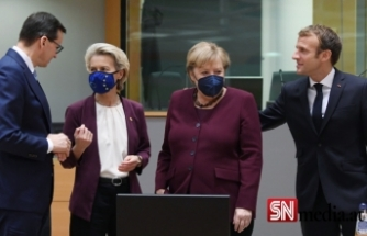 AB zirvesinden Merkel'e veda