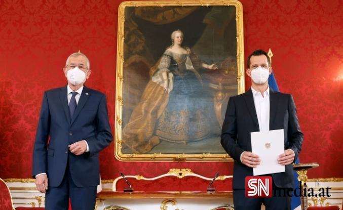 Avusturya'nın yeni sağlık bakanı göreve başladı
