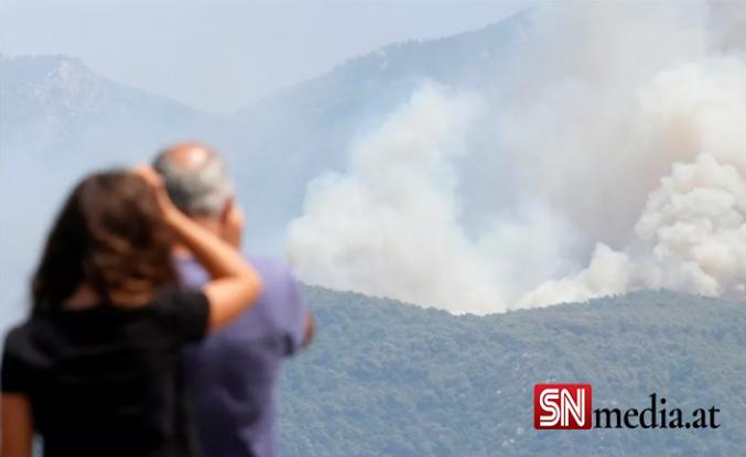 Türkiye'deki orman yangınlarıyla mücadelede beşinci gün: Manavgat'ta can kaybı 7'ye yükseldi