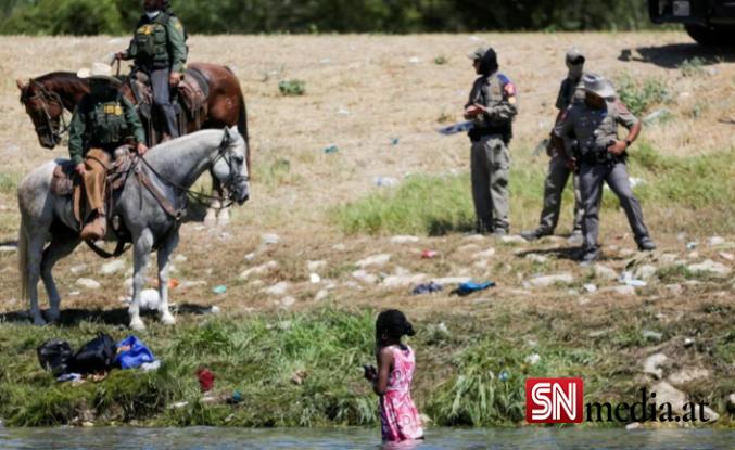ABD'li sınır muhafızları kementlerle göçmenlere saldırdı: Beyaz Saray özür diledi