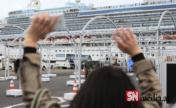 Almanya'dan Viyana'ya gelen gemide korona kümesi! 174 yolcunun 80'i pozitif