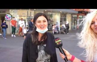 Seçil'le Biz Bize  Sokak Röportajlari!